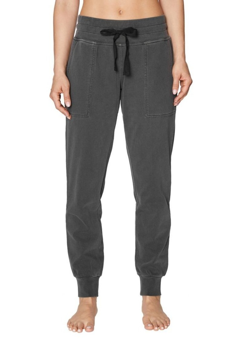 Betsey Johnson Relaxed-Fit Wide Waistband Sweatpants