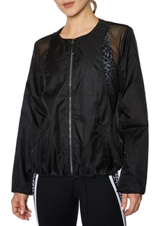 Betsey Johnson Ripstop Mesh Jacket
