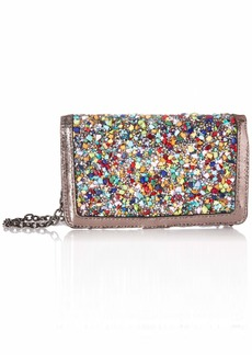Betsey Johnson Rock On Wallet On A String Crossbody Bag