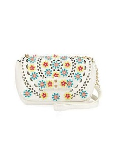 Betsey Johnson Rosie Posie Floral Crossbody Bag