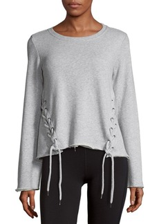 Betsey Johnson Roundneck Cotton Pullover