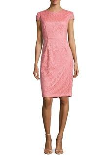 Betsey Johnson Roundneck Lace Dress