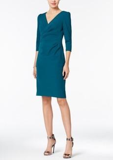 Betsey Johnson Ruched Sheath Dress