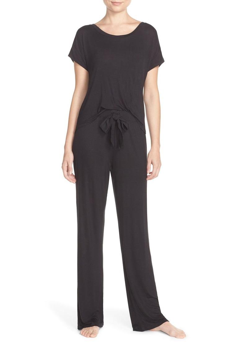 Betsey Johnson Rayon Knit Pajamas