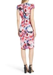 Betsey Johnson Scuba Midi Dress