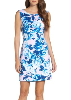 Betsey Johnson Scuba Sheath Dress