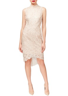 Betsey Johnson Sequin High/Low Dress