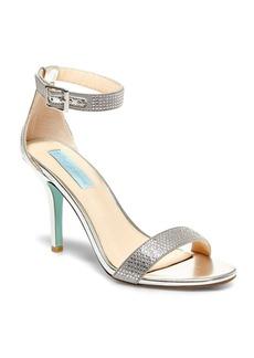 Betsey Johnson Shilo Satin Sandals
