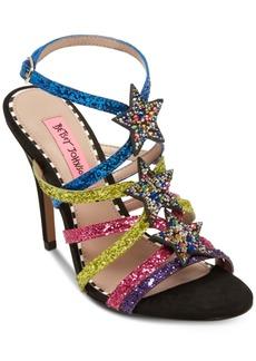 Betsey Johnson Shining Dress Sandals Women's Shoes
