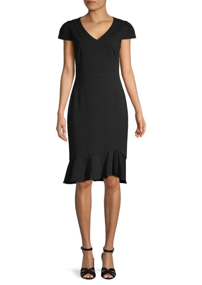 Betsey Johnson Short-Sleeve Sheath Dress