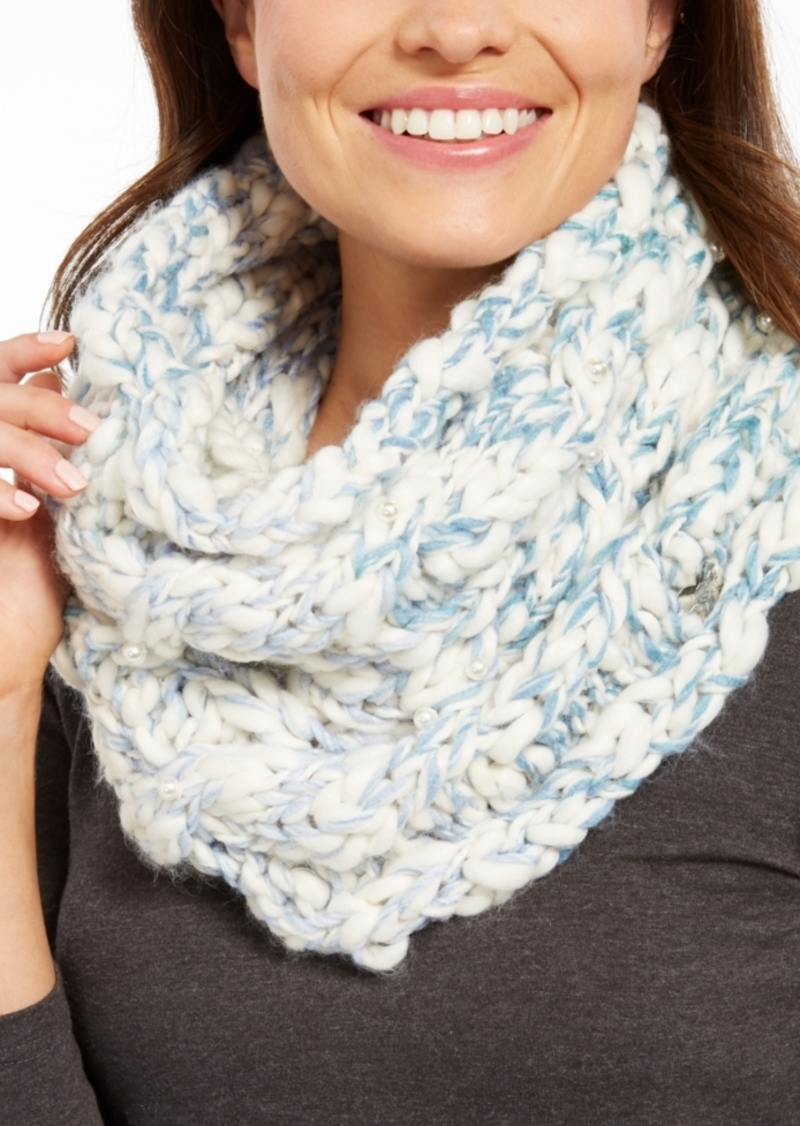 Betsey Johnson Show Diggity Cowl Infinity Scarf