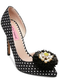 Betsey Johnson Sloan Pointy Toe Pumps Women's Shoes
