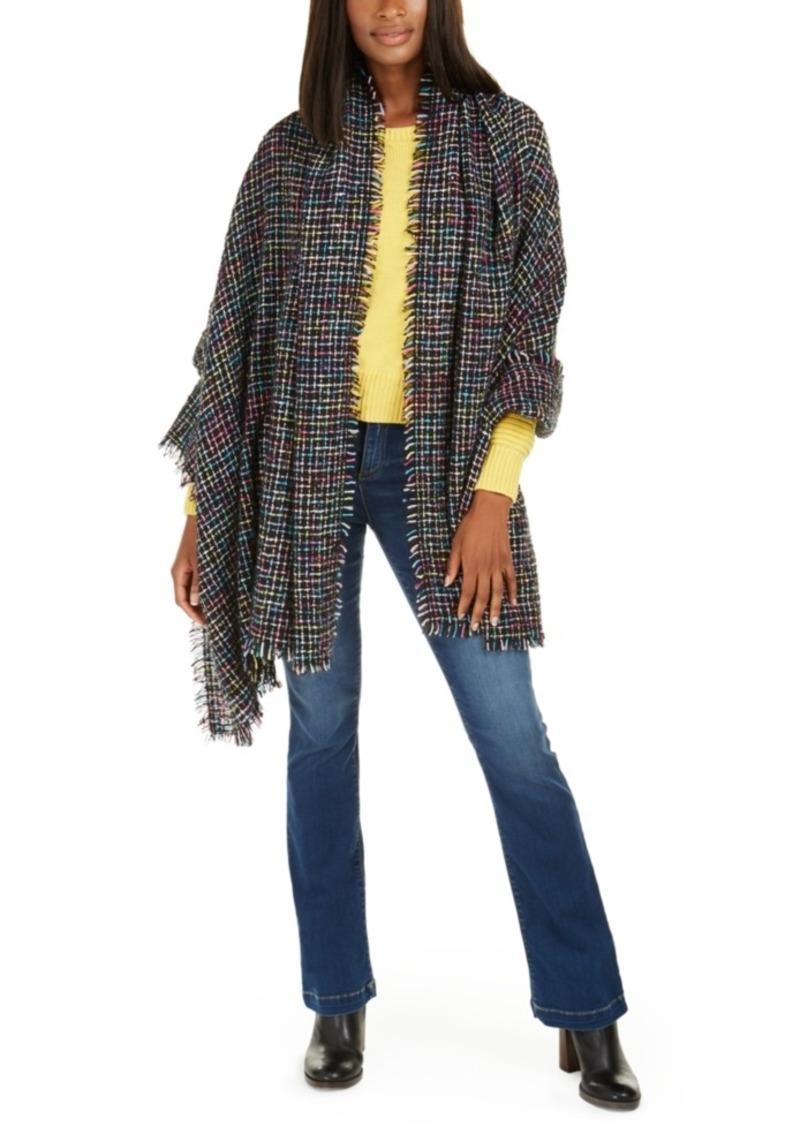Betsey Johnson Slubby Nubby Blanket Wrap
