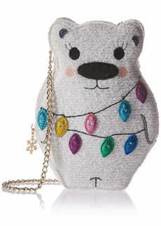 Betsey Johnson Snow Bear Crossbody Bag