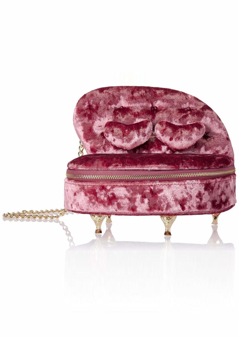 Betsey Johnson Sofa So Good Crossbody Bag