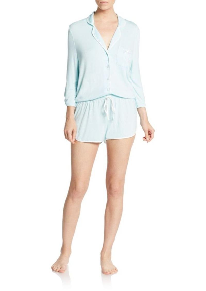 Betsey Johnson Solid Short Jumpsuit