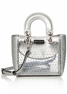 Betsey Johnson Sparkle Top Handle Satchel