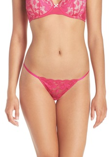 Betsey Johnson 'Starlet' Lace Thong (3 for $30)
