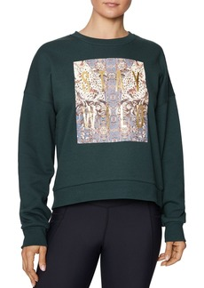 Betsey Johnson Stay Wild Fleece Sweatshirt