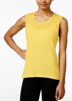 Betsey Johnson Strappy-Back Sleeveless T-Shirt