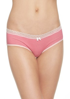 Betsey Johnson Stretch Cotton Hipster Panty (3 for $33)