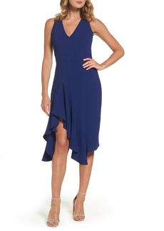 Betsey Johnson Stretch Crepe A-Line Dress