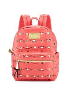 Betsey Johnson Studded Signature Mini Backpack