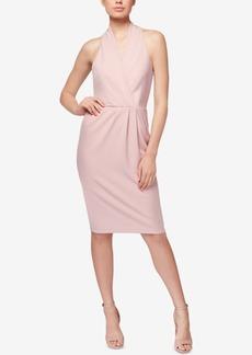 Betsey Johnson Surplice Sheath Dress