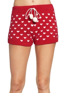 Betsey Johnson Sweater Pajama Shorts