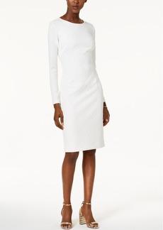 Betsey Johnson Textured Knit Sheath Dress