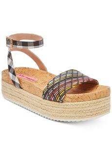 Betsey Johnson Thelma Espadrille Sandals Women's Shoes