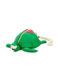 Betsey Johnson Turtle Faux-Leather Wristlet
