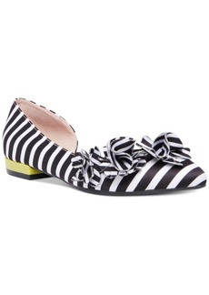Betsey Johnson Tutu Pointed-Toe d'Orsay Ballet Flats Women's Shoes