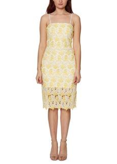 Betsey Johnson Two-Tone Lace Bodycon Dress
