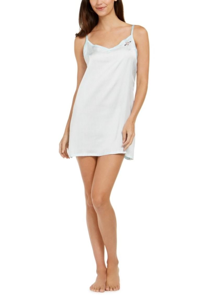 Betsey Johnson V-Neck Chemise Nightgown