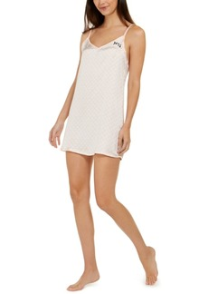 Betsey Johnson Mrs. V-Neck Chemise Nightgown