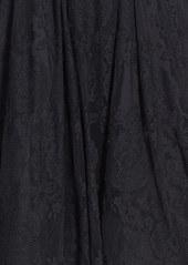 Betsey Johnson V-Neck Lace Fit & Flare Dress
