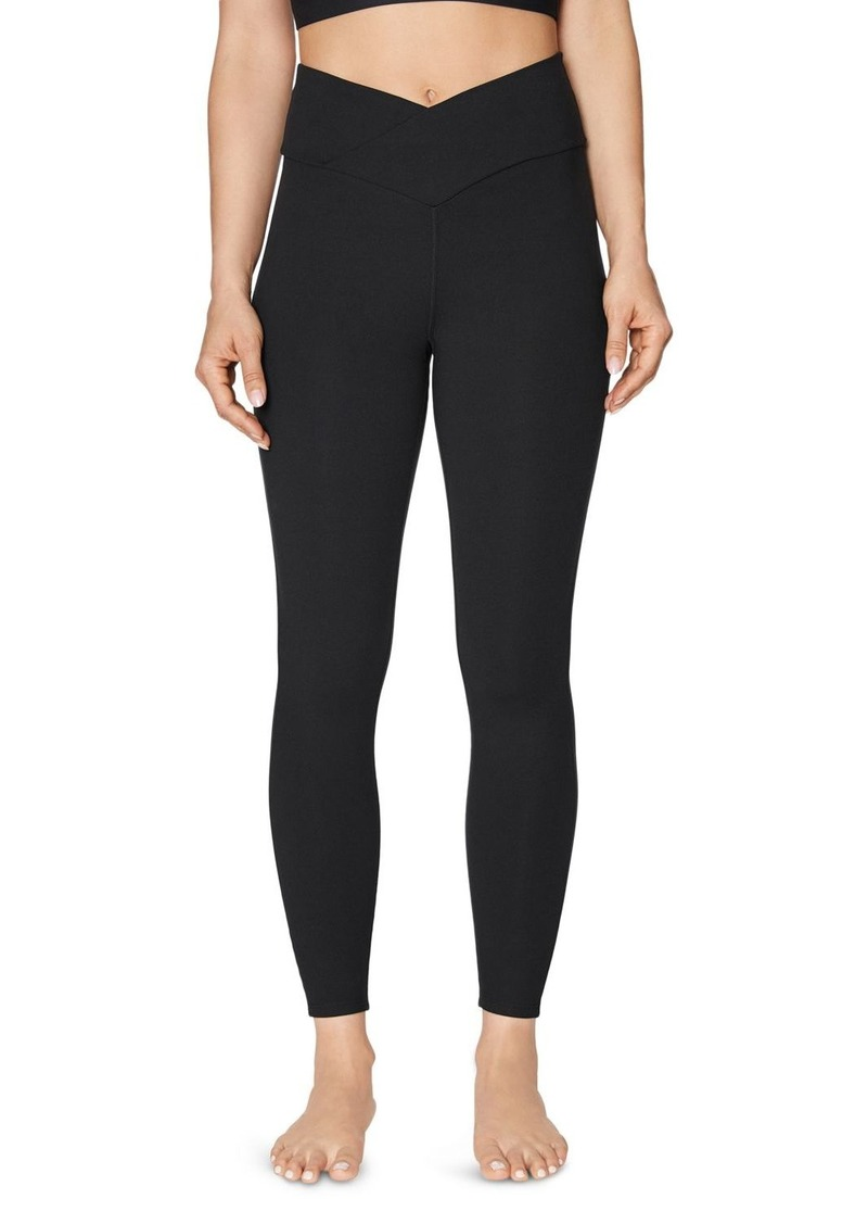 Betsey Johnson V-Waist High-Rise Leggings