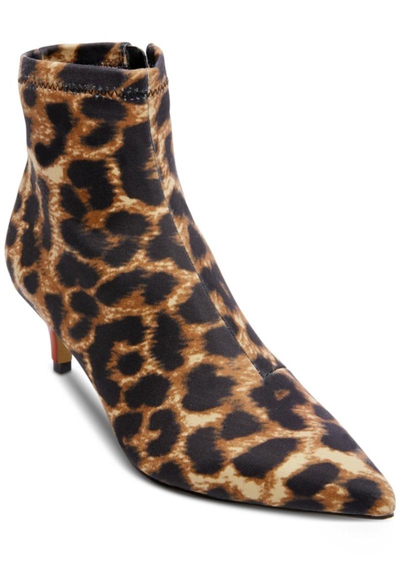 Betsey Johnson Verona Kitten-Heel Booties Women's Shoes