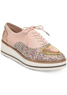 Betsey Johnson Walker Embellished Oxfords Women's Shoes