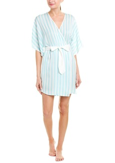Betsey Johnson Wifey Washed Satin Robe