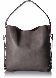 Betsey Johnson Wild Bets Hobo grey