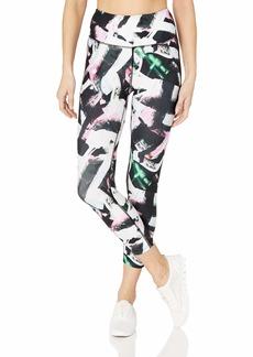 Betsey Johnson Women's All Over Print High Rise 7/8 Legging  Extra Small