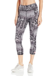 Betsey Johnson Women's Animal Lace Print Crop Legging  X-Small