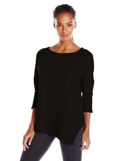 Betsey Johnson Women's Asymmetrical Hem Top