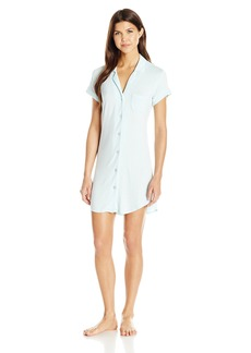 Betsey Johnson Women's Betsey Blue Bridal Mrs Sleepshirt  M