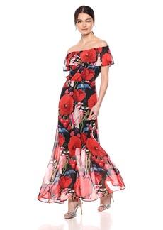 Betsey Johnson Women's Birds of Paradise Maxi Dress
