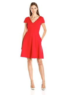 Betsey Johnson Women's Bonded Knit Dress