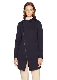 Betsey Johnson Women's Bonded Tech Fleece Coat  XL