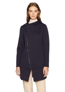 Betsey Johnson Women's Bonded Tech Fleece Coat  XS